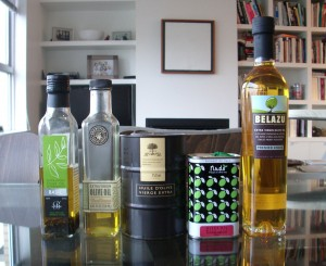 Here are some of the olive oil's in my pantry right now.