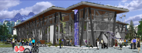 Proposed New City Vancouver Farmers Market permanent home. From the RIPE blog.