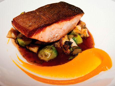 Yew Restaurant Salmon Photo Foodists