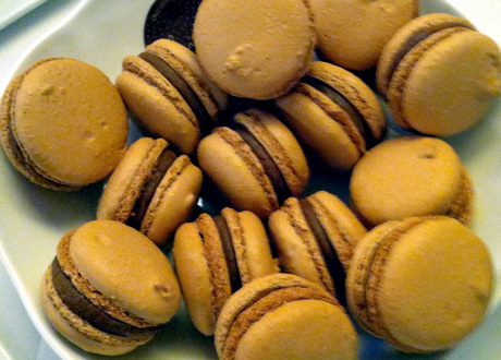 Chef Thierry's Chocolate Macaroons