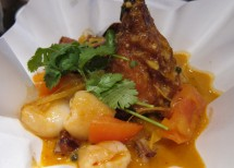 Delizia Fusion's Red Curry BBQ Duck with Lychee