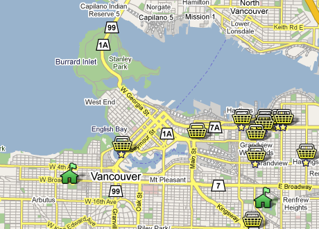 Where to shop in Vancouver - http://tr.im/foodistsmap