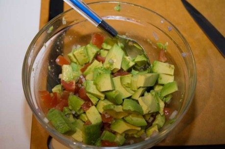Avocados salsa (click to enlarge)