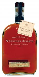 Woodford Reserve bourbon for bourboned peaches recipe.