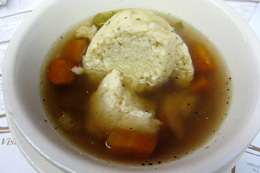 matzoh-ball-soup-at-katz-deli