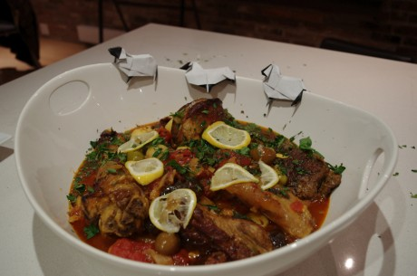 Angus Tagine with Origami Lambs