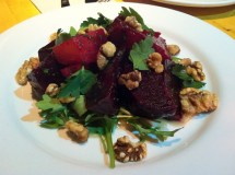 Che Baba Cantina Vancouver beet salad with walnuts