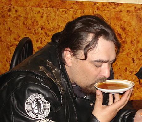 Russian Drinking Tea Bowl