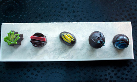 Blind chocolate tasting